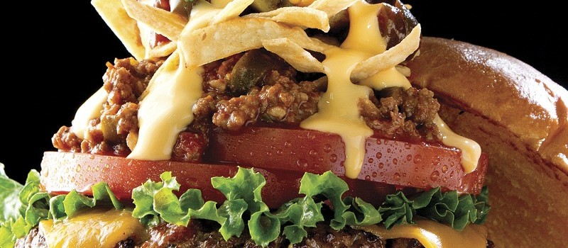 Burger, Texas Chili Cheese